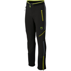 Karpos Alagna Plus Evo Broek Heren, black asphalt/yellow fluo